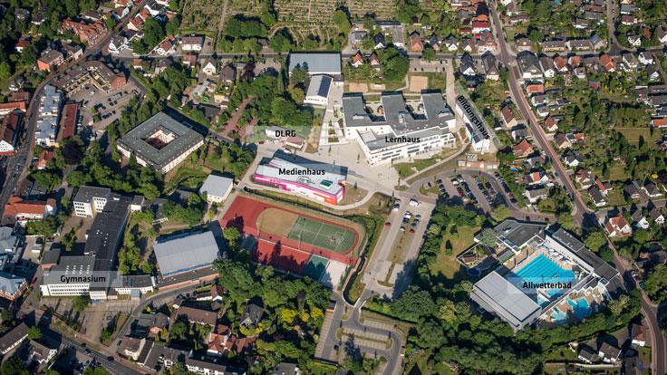 Übersicht Campus