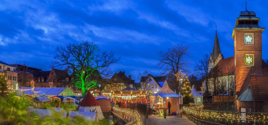 Weihnachtsmarkt, Panorama©Stadt Osterholz-Scharmbeck